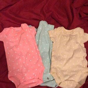 3 piece onesies